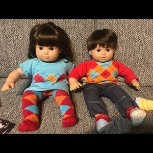 American Girl Bitty Twins Bundle